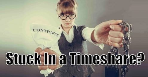 Stuck in a timeshare agreement